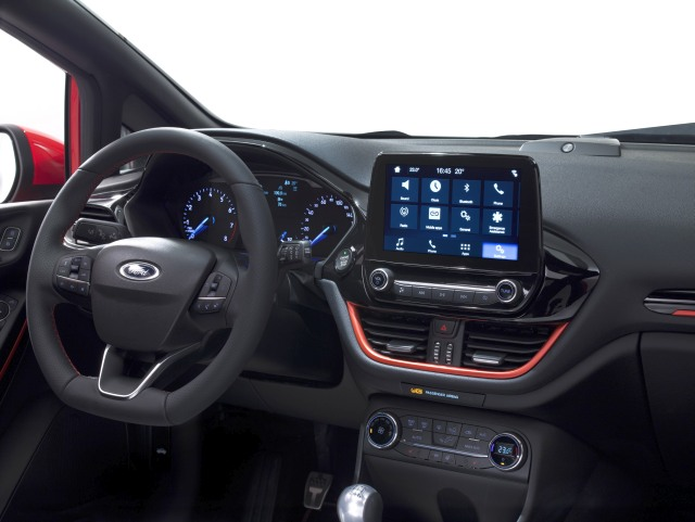 FORD FIESTA ST-LINE MIDDLE CONSOLE