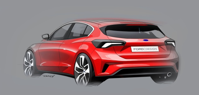 FORD 2018 FOCUS SKETCHES  01