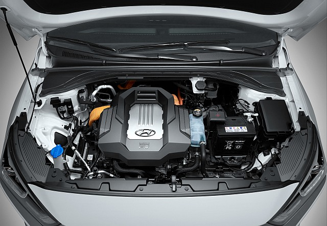 2016IONIQ Electric Engine